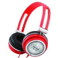 MH100R Personal Headphones (Red)